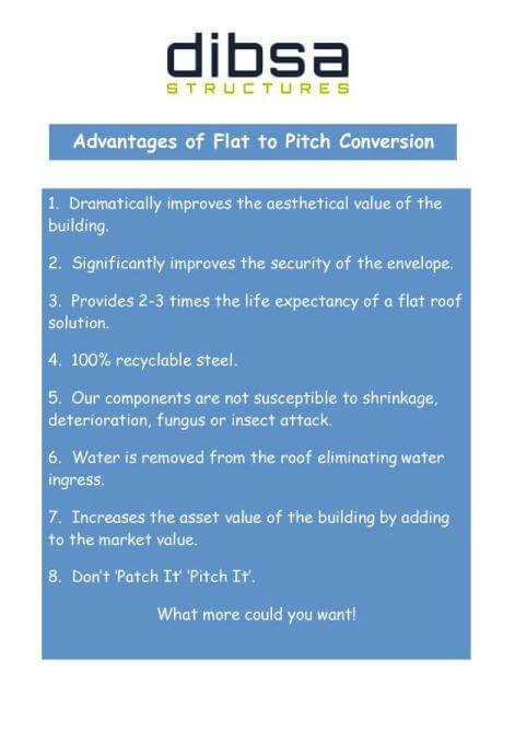Advantages of a Lightweight Steel Flat to Pitch 5